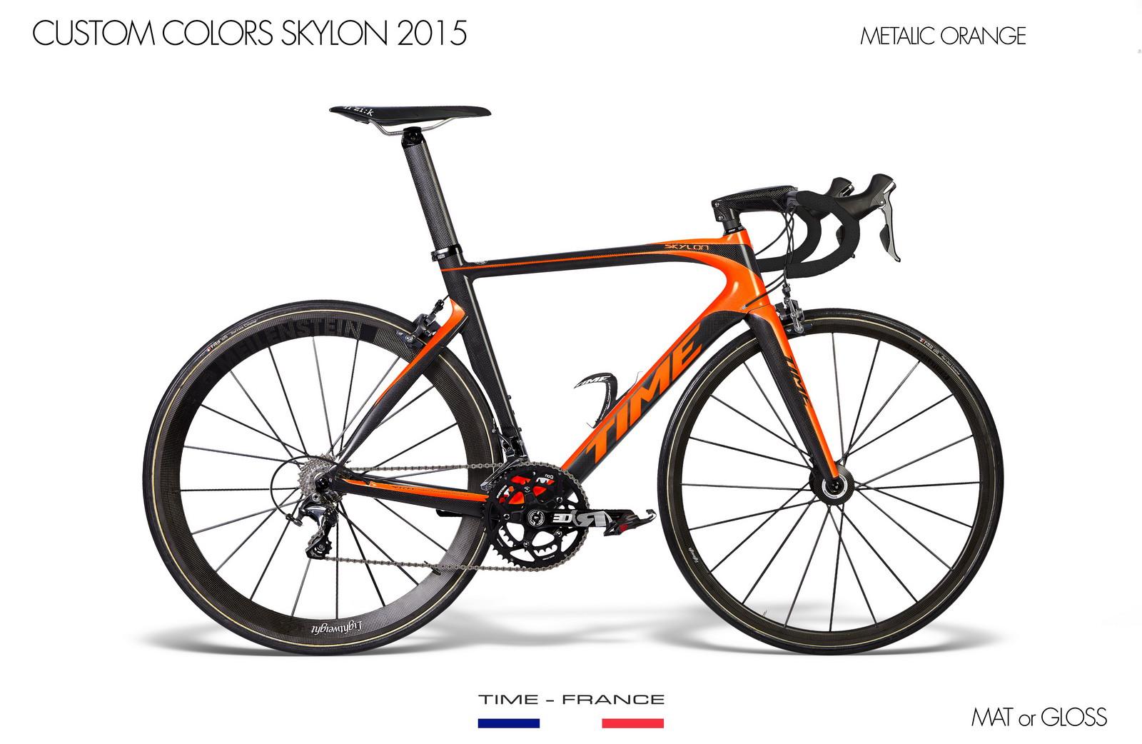 Skylon metalic orange