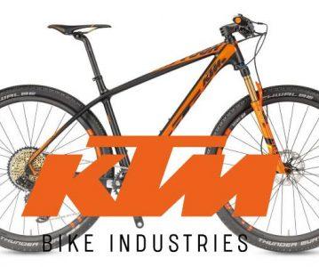 Gamme 2018 KTM