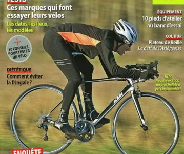 Le KTM Revelator dans le magazine Le Cycle d'avril 2014
