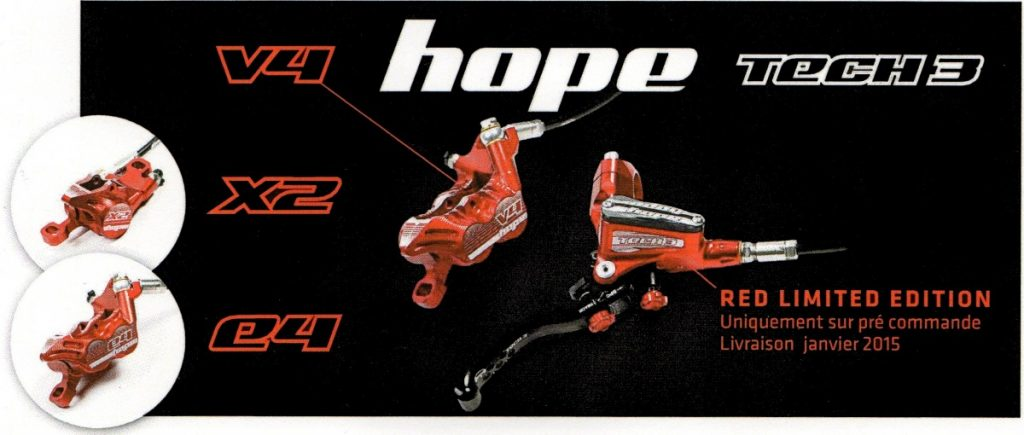 Hope Tech 3 red