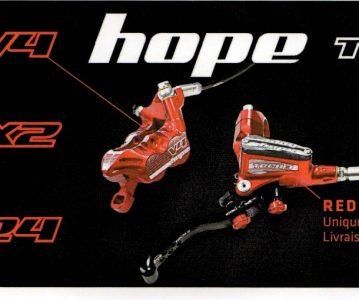 Hope Tech 3 Red édition limitée
