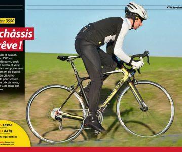 Le KTM Revelator 3500 en test dans le magazine Le Cycle de Mars 2015