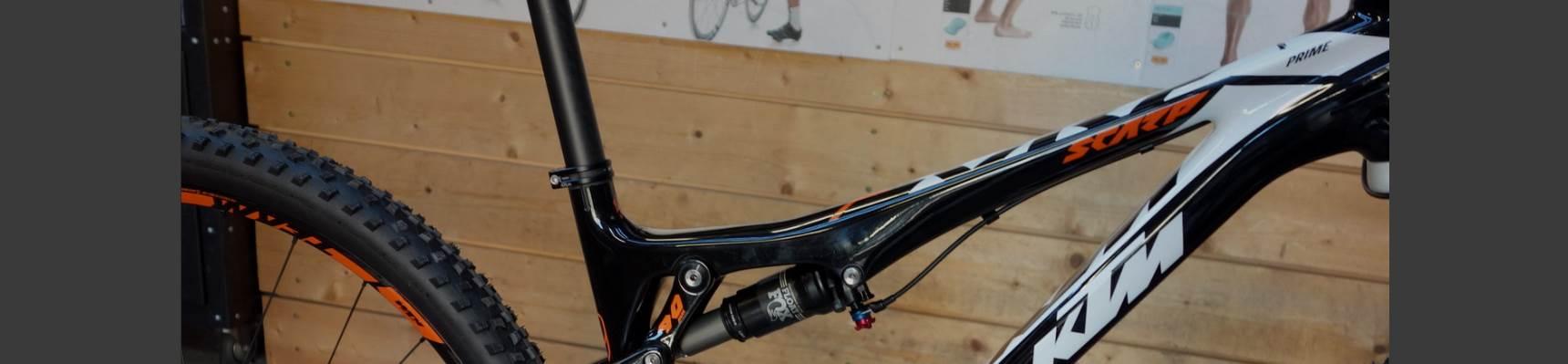 Déstockage vélos 2016 KTM, LOOK et Time