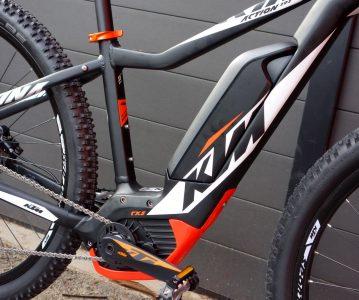 VAE KTM avec batterie intégrée