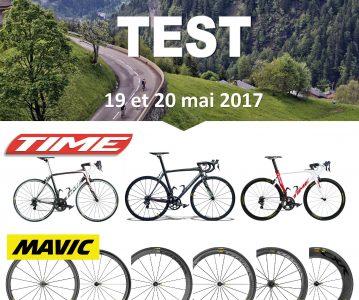 Journées test Time et Mavic/Enve le 19 et 20 mai 2017