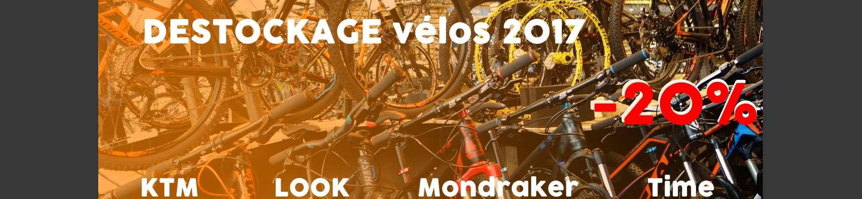 -20% sur les vélos en stock KTM, LOOK, Mondraker et Time !