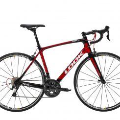 765 Optimum Black Red Glossy