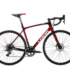 765 Optimum Disc Black Red Glossy