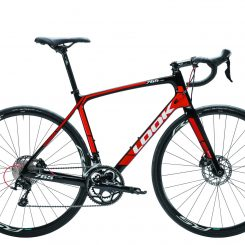 765 Optimum Disc Black Red Glossy Shimano