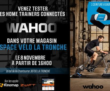 Animation home-trainer Wahoo le 8 novembre à 16h !